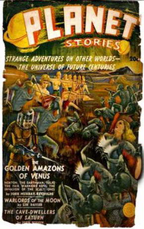 The Golden Amazons of Venus by John Murray Reynolds