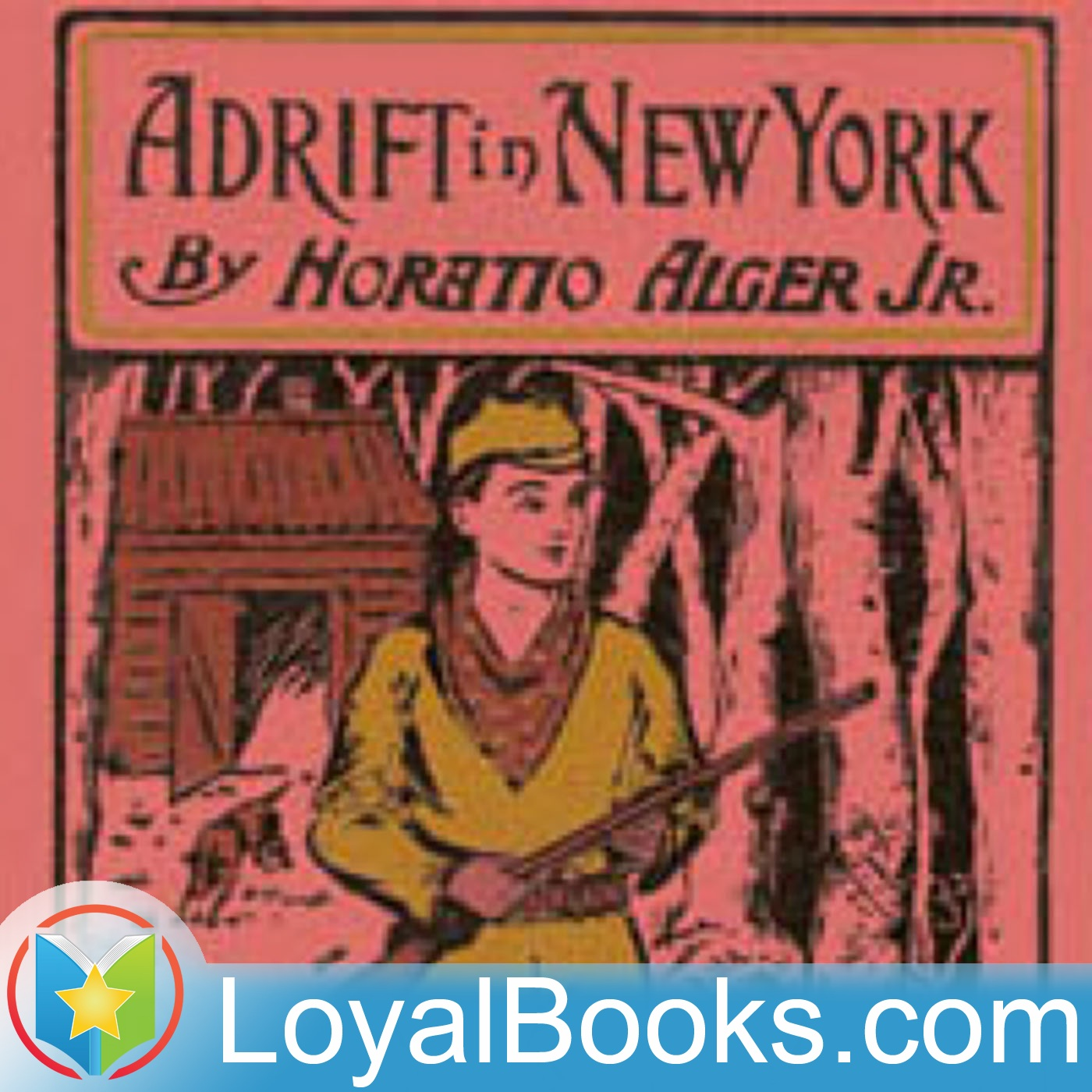 <![CDATA[Adrift in New York by Horatio Alger, Jr.]]>