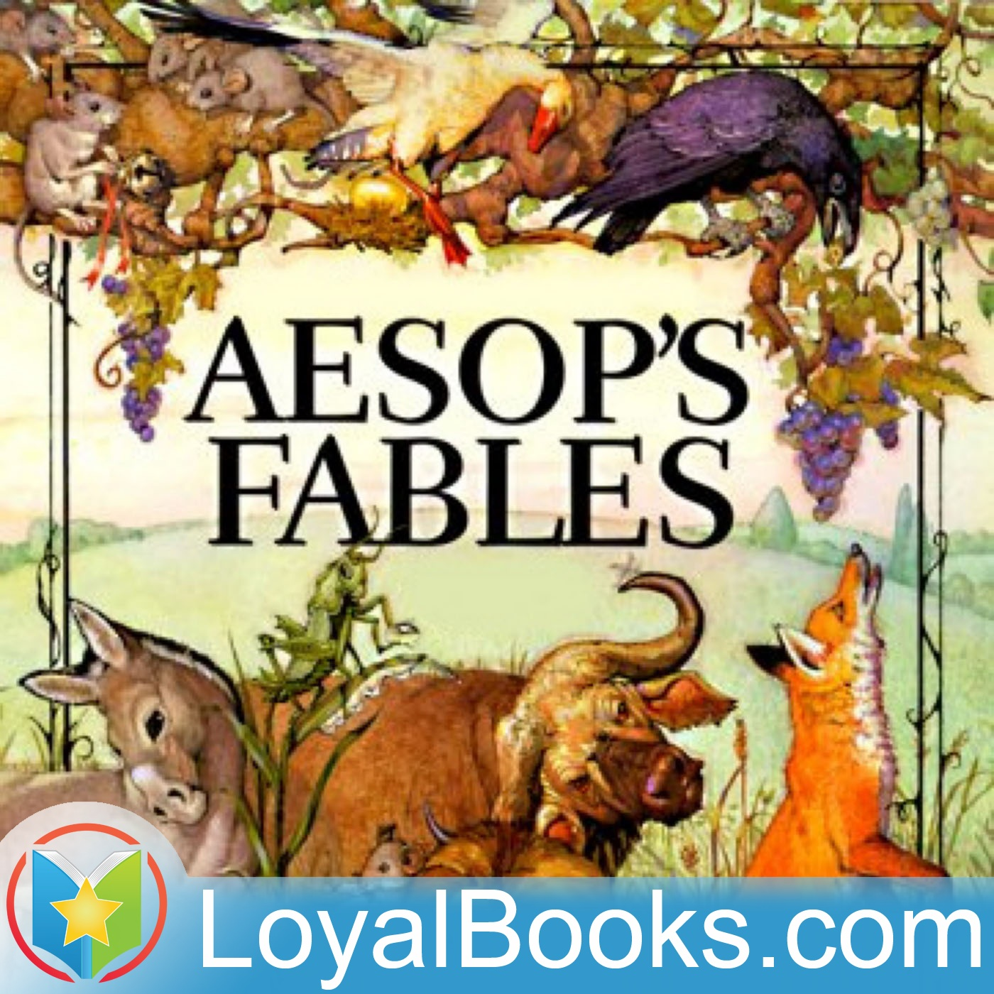<![CDATA[Aesops Fables in Russian by Aesop]]>