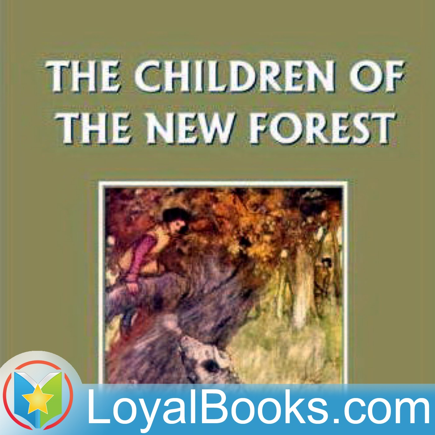 <![CDATA[The Children of the New Forest by Frederick Marryat]]>