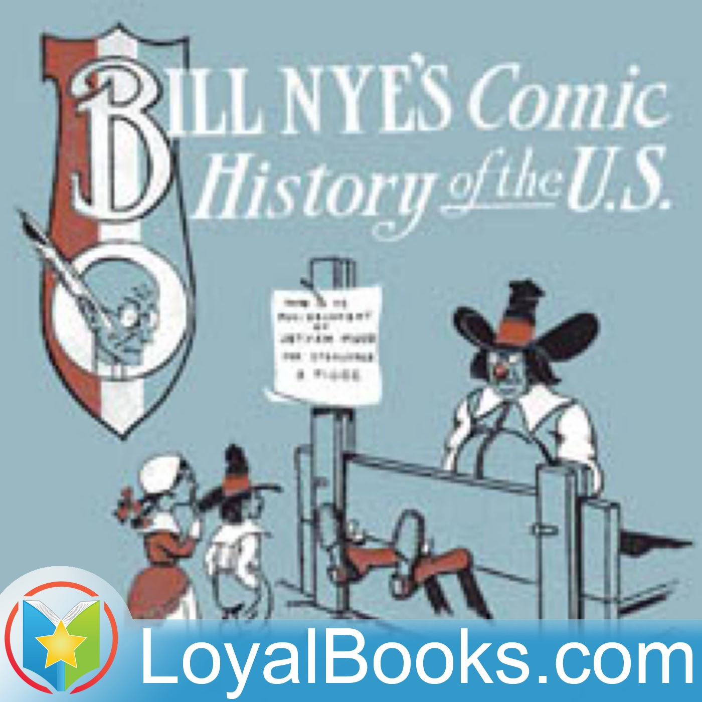 <![CDATA[Comic History of the United States by Bill Nye]]>