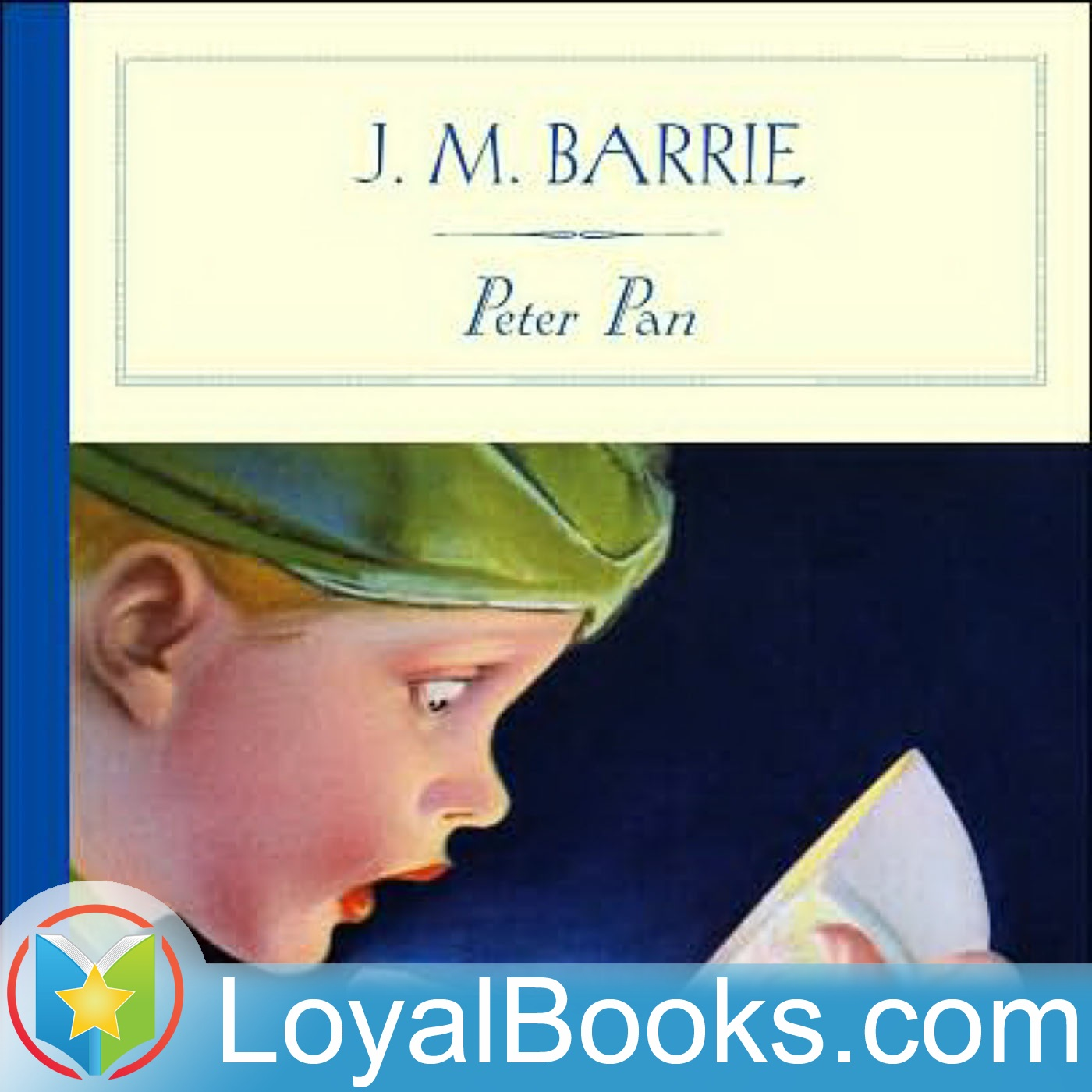 <![CDATA[Peter Pan by J. M. Barrie]]>