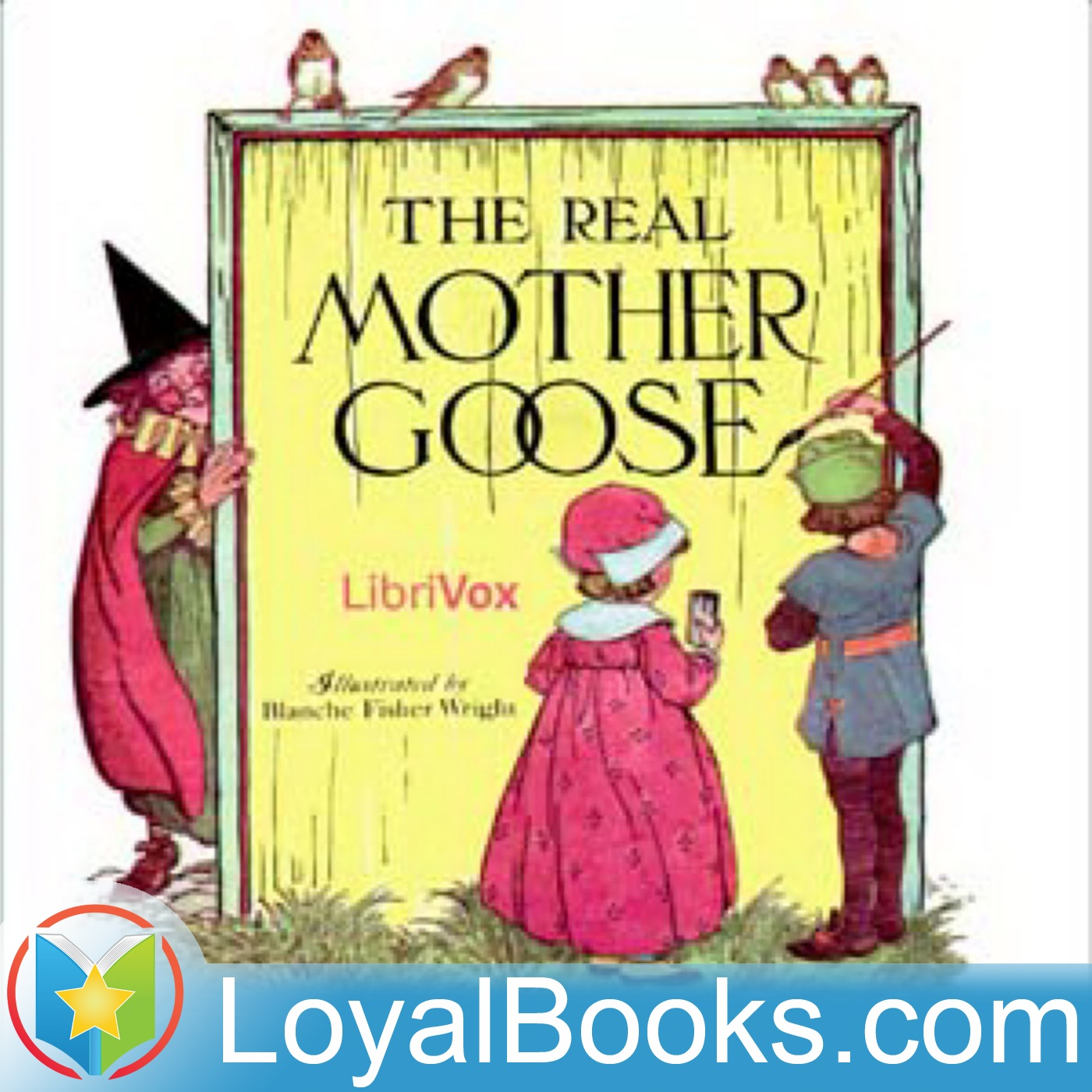 <![CDATA[The Real Mother Goose by Anonymous]]>