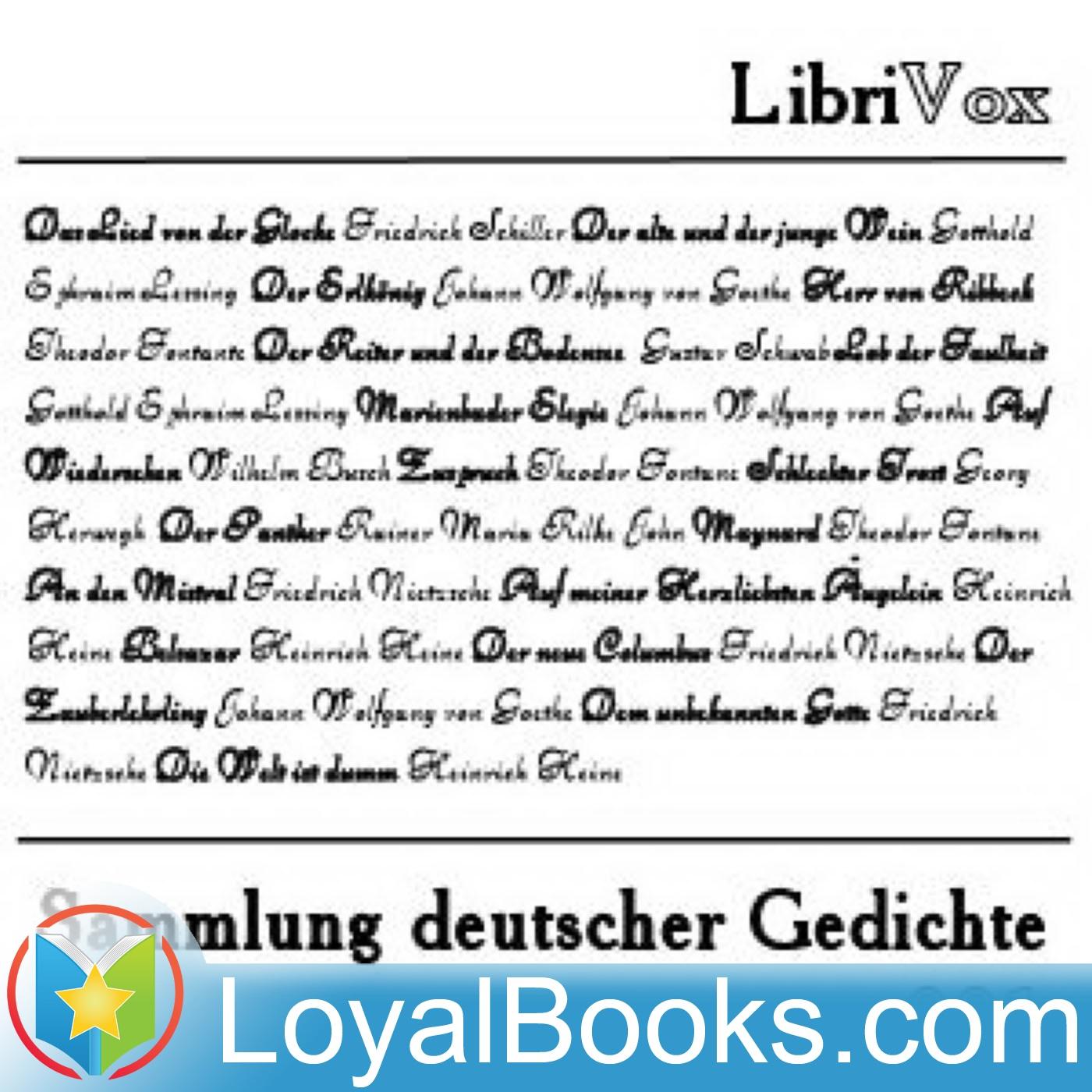 <![CDATA[Sammlung deutscher Gedichte by Various]]>