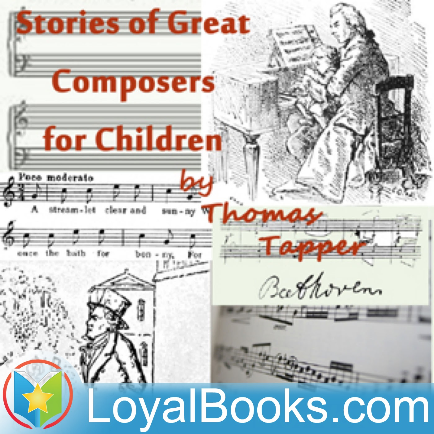 <![CDATA[Stories of Great Composers for Children by Thomas Tapper]]>