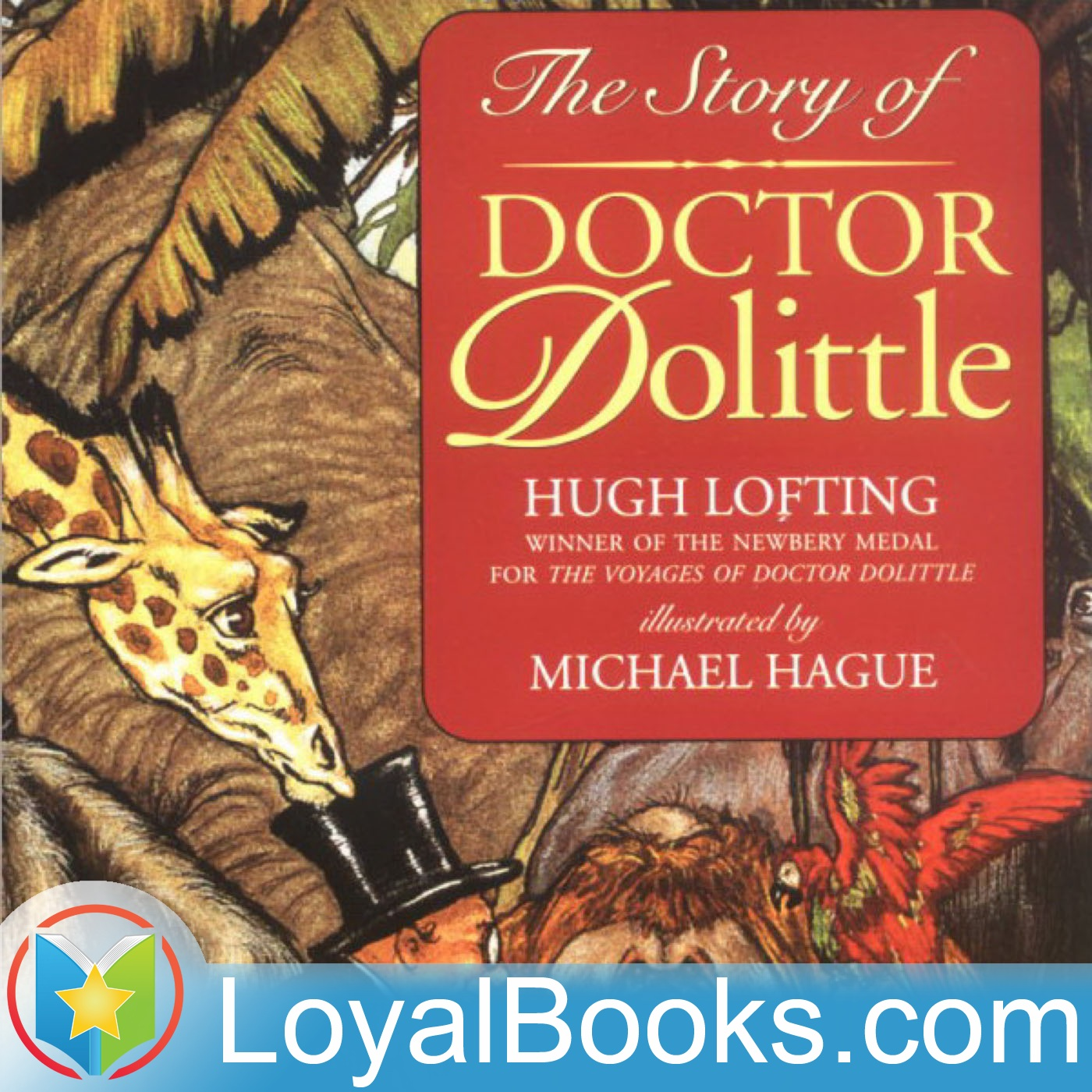 <![CDATA[The Story of Doctor Dolittle by Hugh Lofting]]>