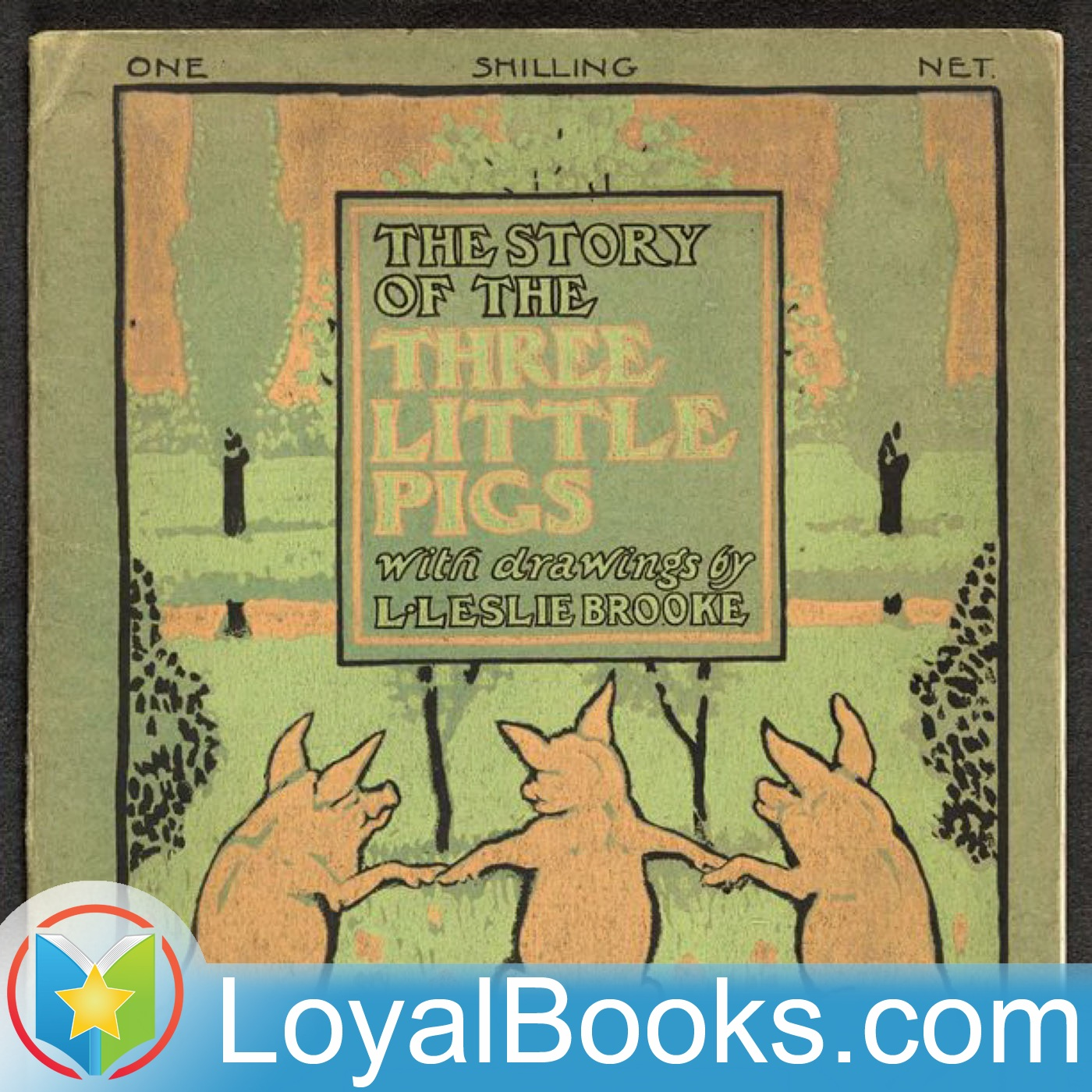<![CDATA[The Story of the Three Little Pigs by L. Leslie Brooke]]>