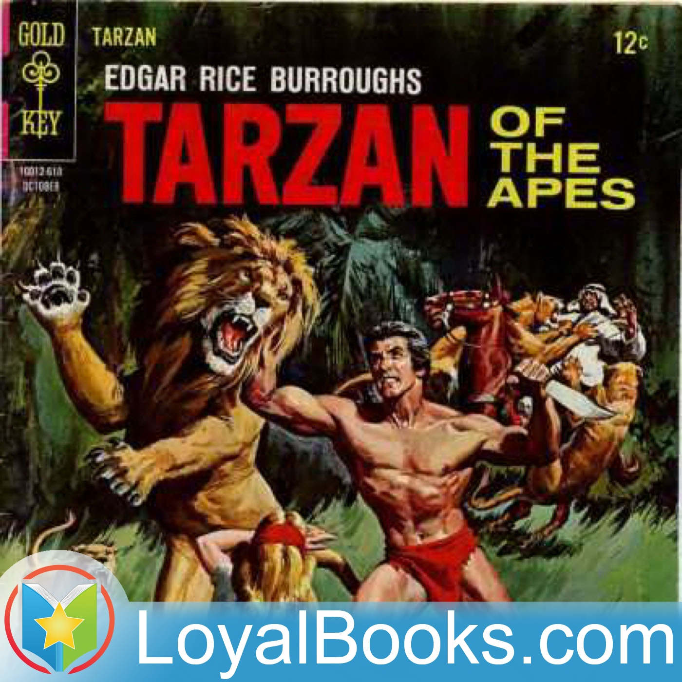 <![CDATA[Tarzan of the Apes by Edgar Rice Burroughs]]>