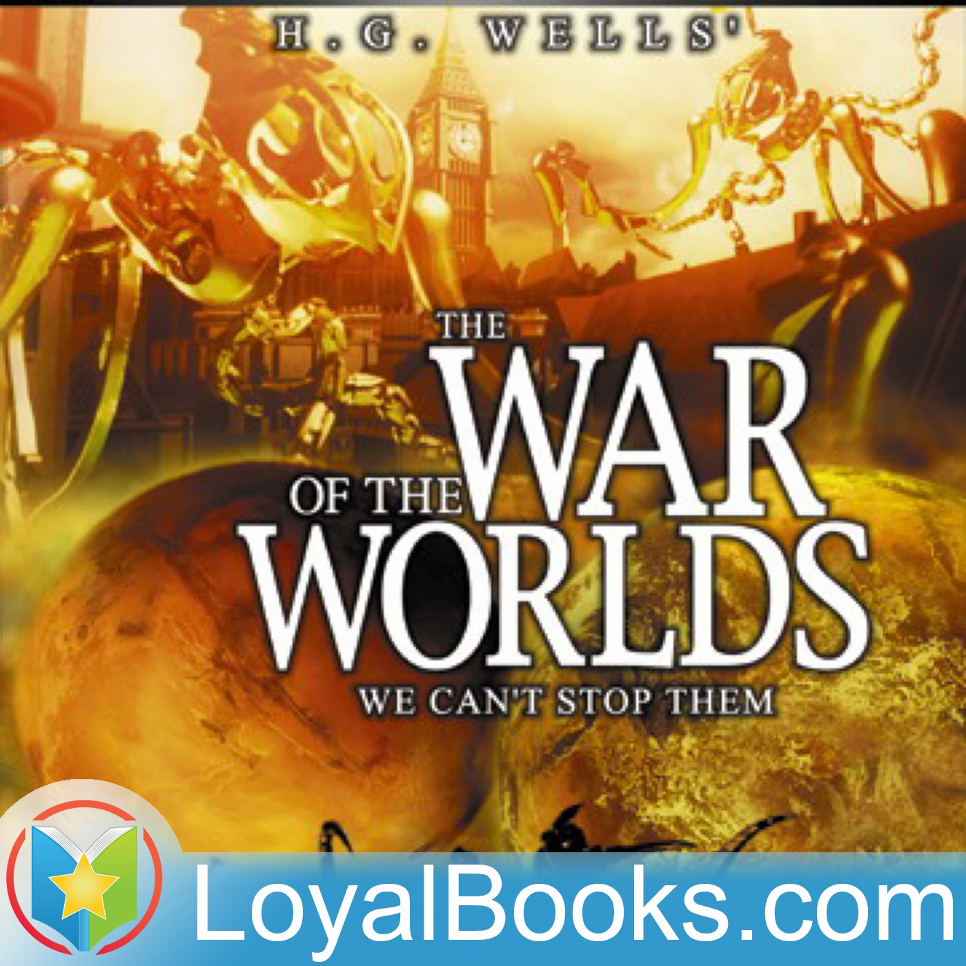 <![CDATA[The War of the Worlds by H. G. Wells]]>