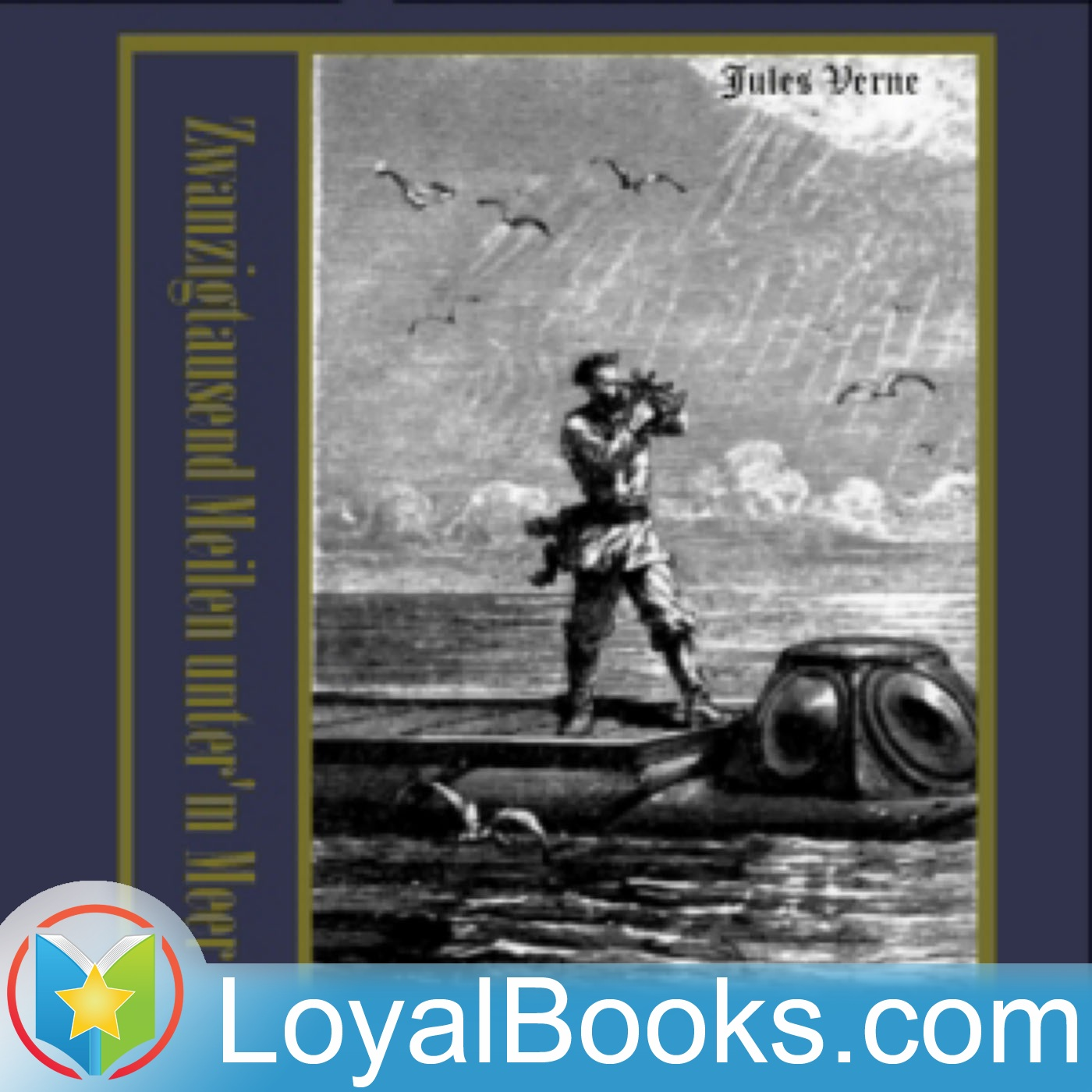 <![CDATA[Zwanzigtausend Meilen unter'm Meer by Jules Verne]]>
