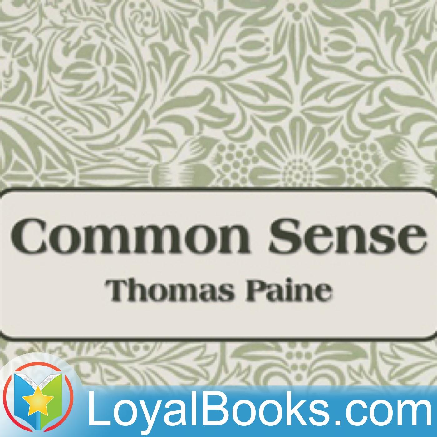 <![CDATA[Common Sense by Thomas Paine]]>
