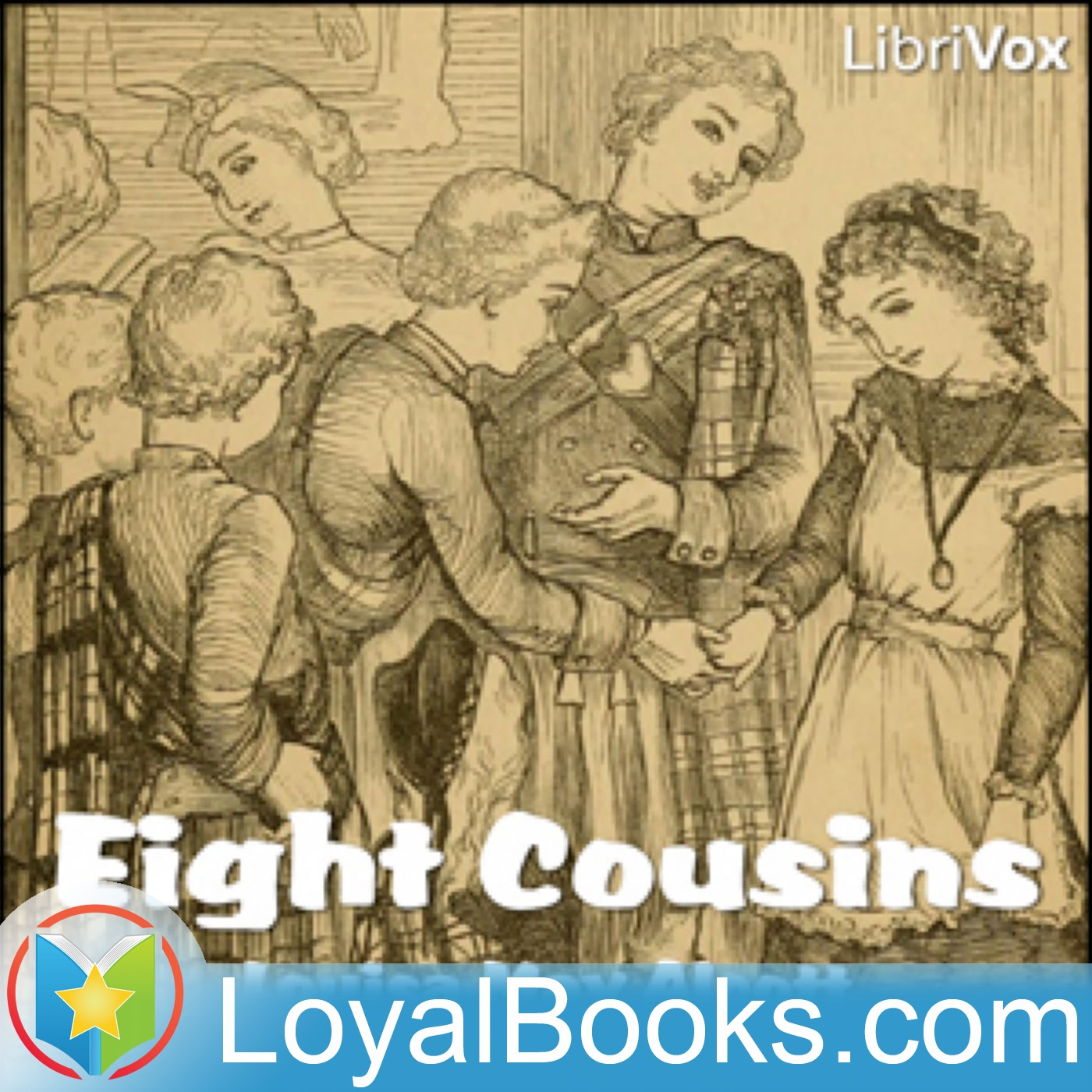<![CDATA[Eight Cousins by Louisa May Alcott]]>
