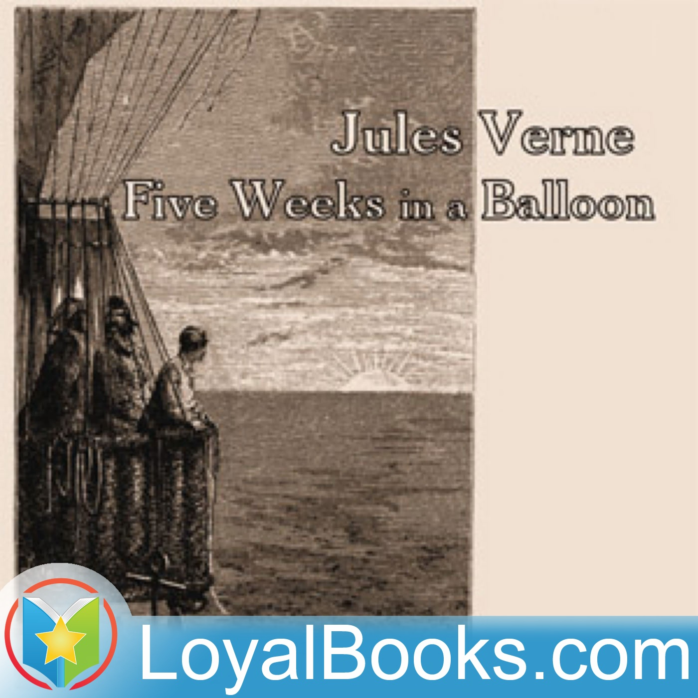 <![CDATA[Five Weeks in a Balloon by Jules Verne]]>