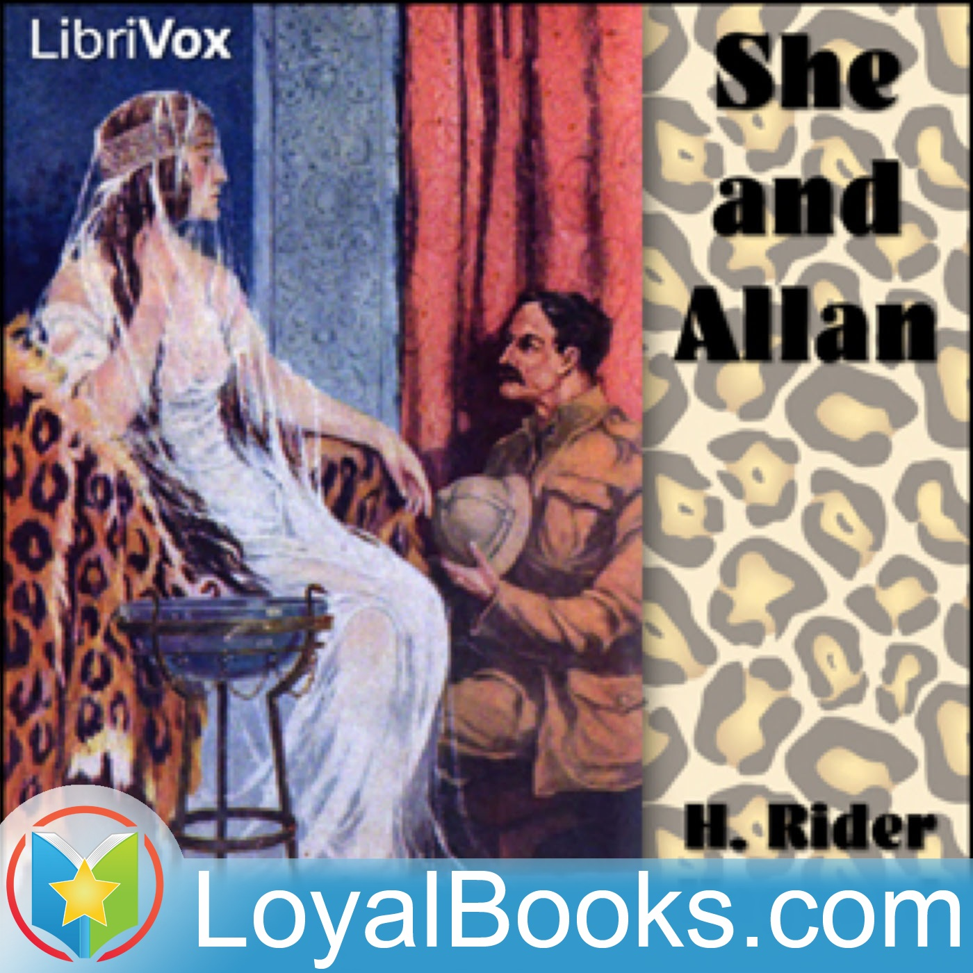 <![CDATA[She and Allan by H Rider Haggard]]>