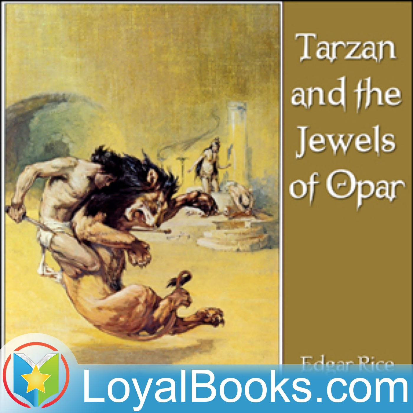 <![CDATA[Tarzan and the Jewels of Opar by Edgar Rice Burroughs]]>